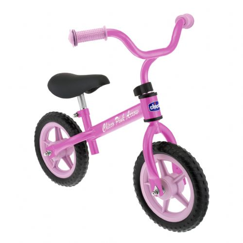 Pink Arrow Balance Bike